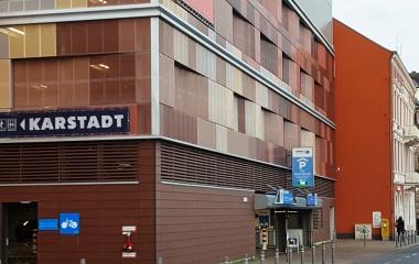 Karstadt-Parkhaus-Neubau