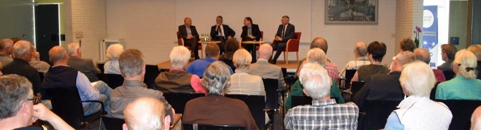 Als Podiumsteilnehmer bei der Europa Union - Thema BrExit