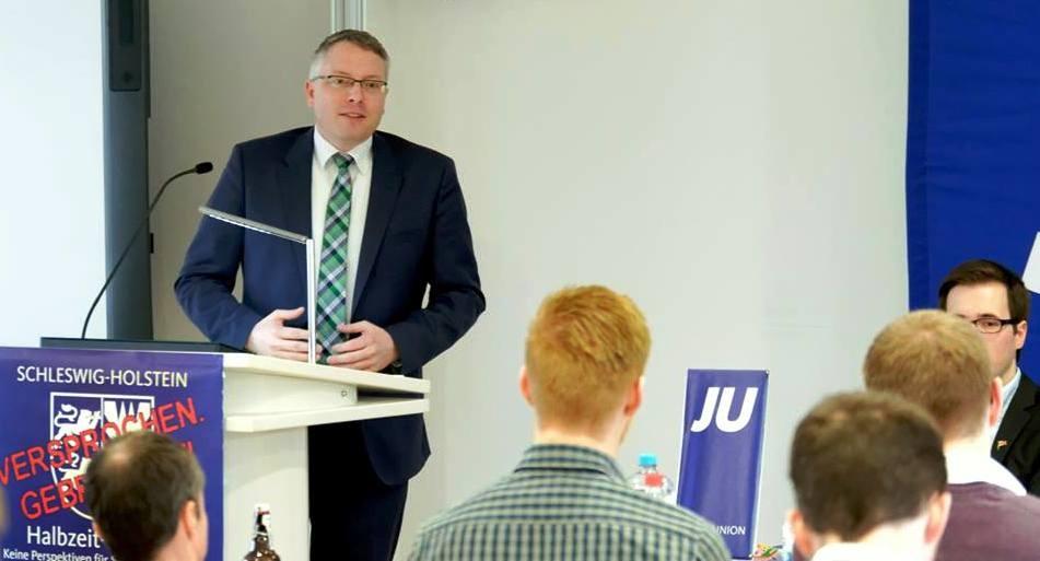 Arne Rüstemeier zu Gast bei der Jungen Union