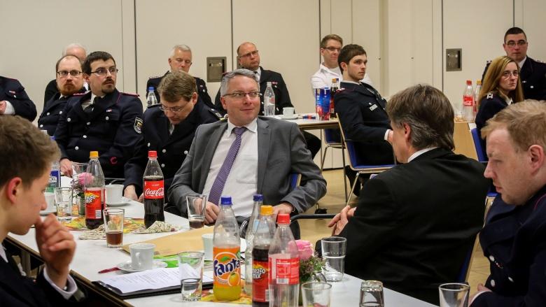Bei der Freiwilligen Feuerwehr Jürgensby