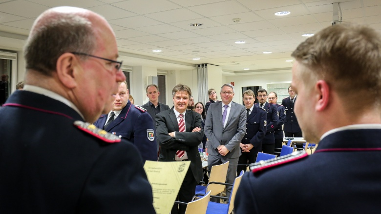 Mit dabei: Karsten Sörensen und Arne Rüstemeier
