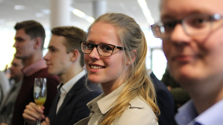 Teilnehmer der JU Flensburg