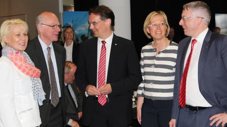 Nord-Kandidaten gemeinsam mit Prof. Dr. Norbert Lammert, MdB