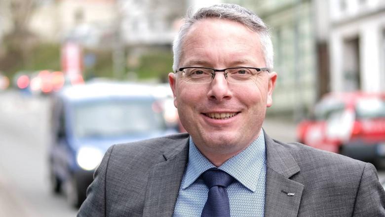 Partei- und Fraktionsvorsitzender Arne Rüstemeier