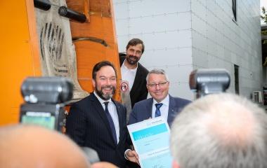"""Auszeichnung """"Niedrigste Gebühren deutschlandweit"""" für das TBZ"""