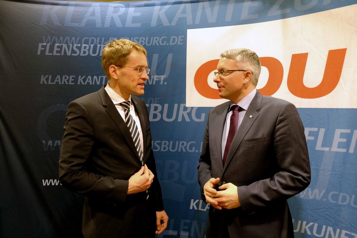 Daniel Günther beim Kreisparteitag der CDU Flensburg
