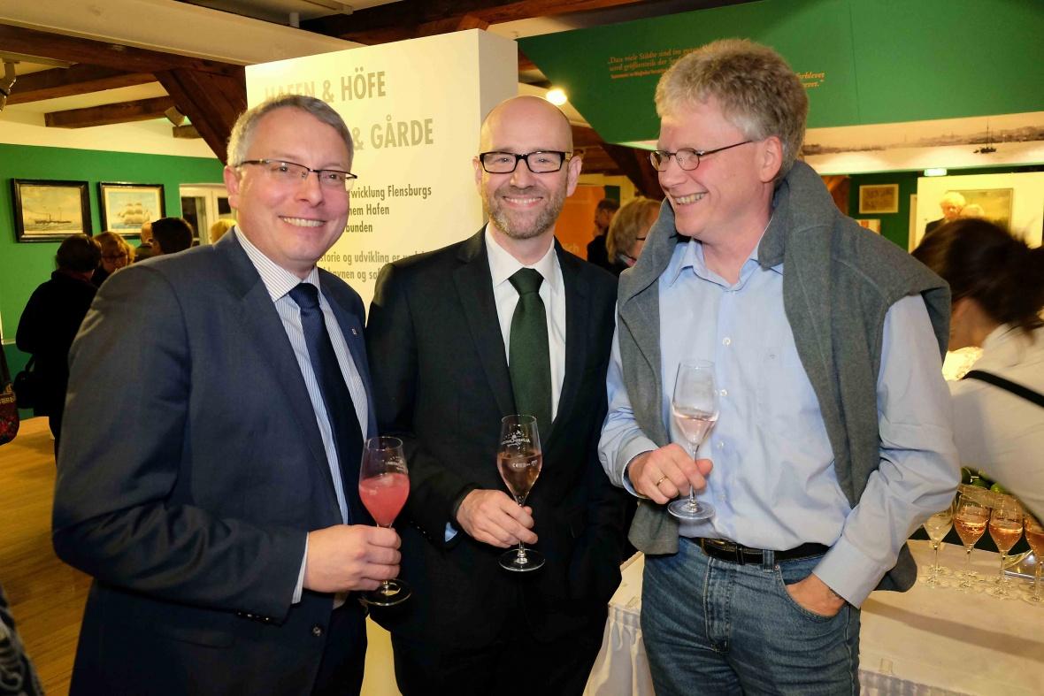 Mit CDU-Generalsekretär Dr. Peter Tauber und Dr. Jens Junge