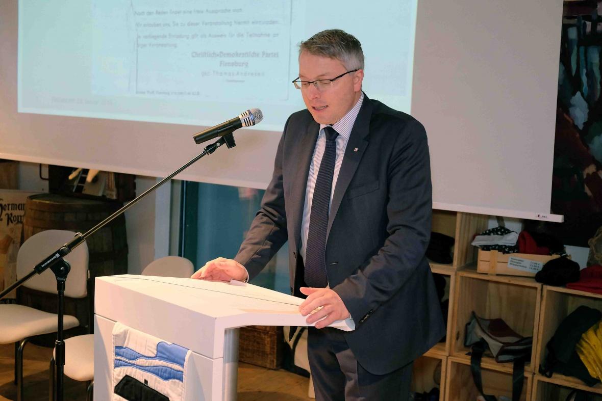 Rede anlässlich 70 Jahre CDU Flensburg