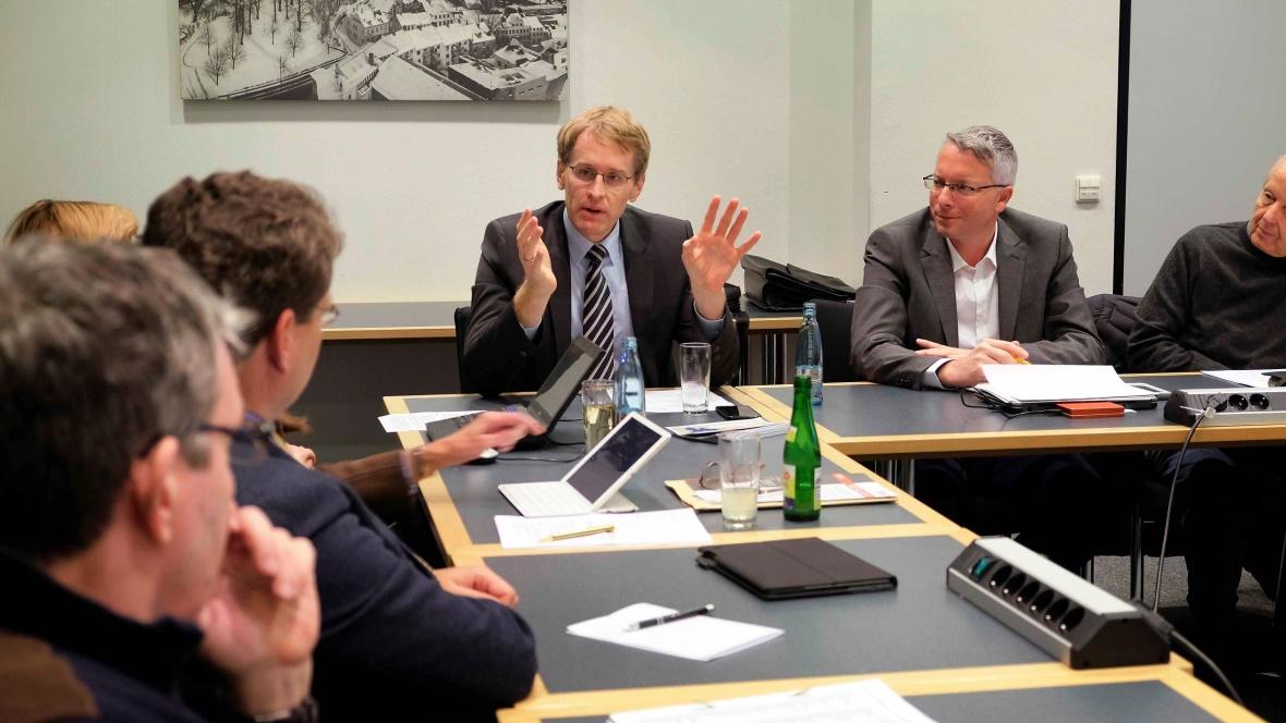 Daniel Günther zu Gast in der Ratsfraktion