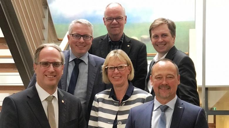 Bei der IHK Flensburg: Landtagsfraktionsvorsitzender Tobias Koch