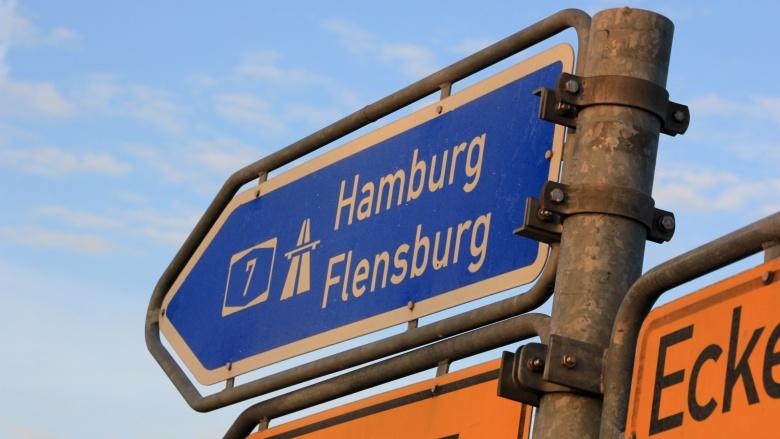 Verkehrsanbindung Flensburgs