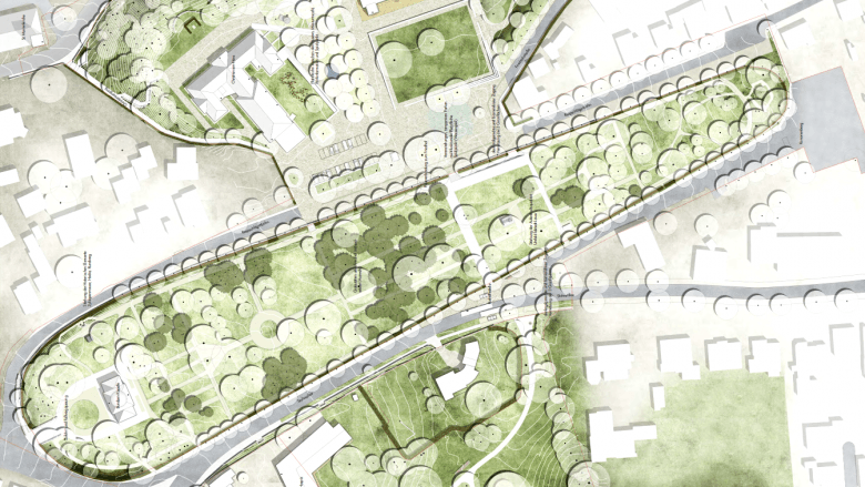 Christiansens Gärten - Projektskizze