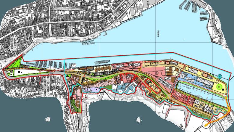 Planung Hafen Ost