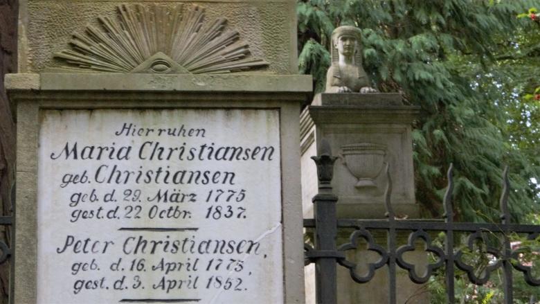 Christiansens Gärten - Alter Friedhof