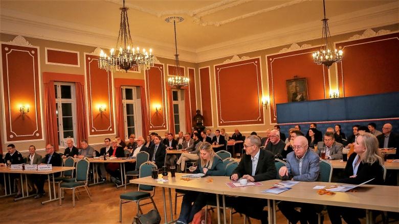 CDU-Parteitag im großen Saal des Borgerforeningen