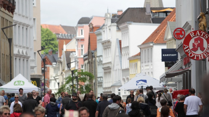 Flensburger Innenstadt