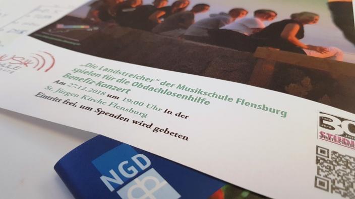 Die NGD ist für die Betreuung in Flensburgs Unterkunft zuständig